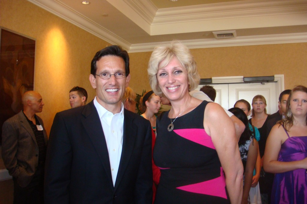 Orly with Eric Cantor