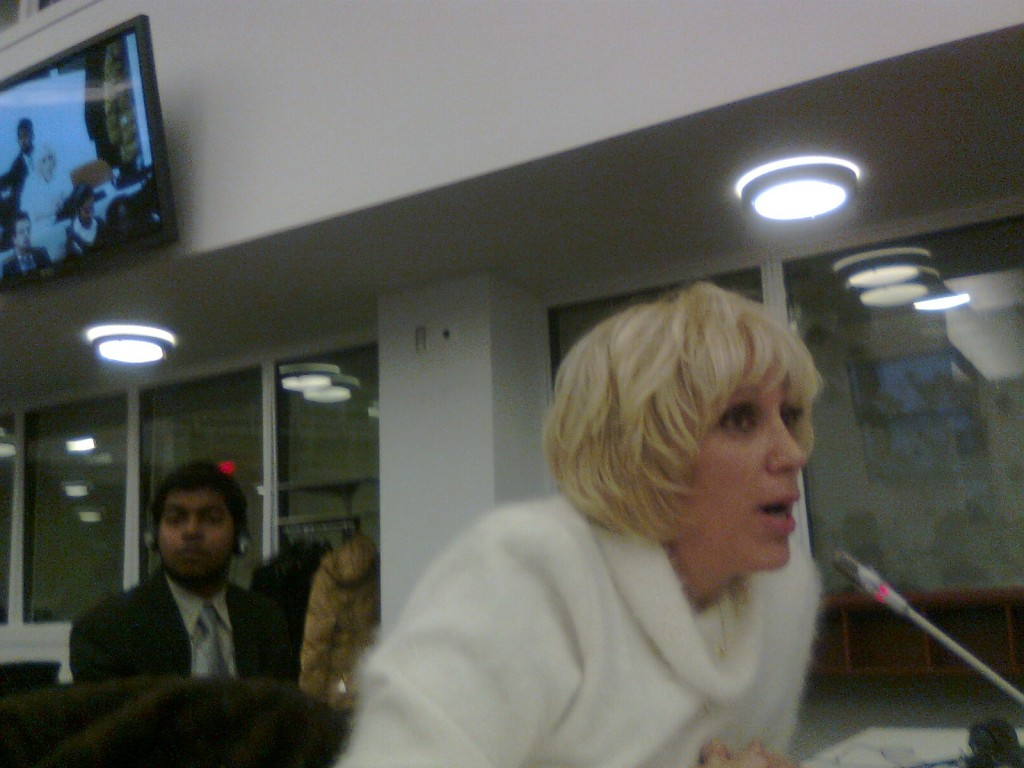 Orly Taitz at The United Nations