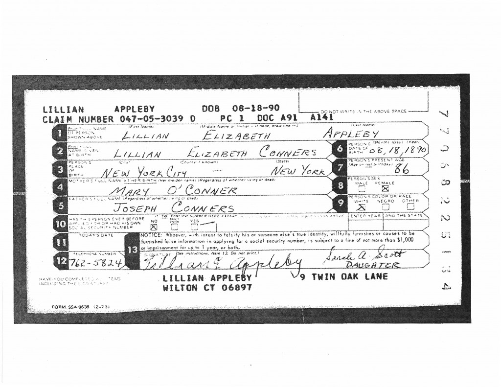 claims are social security notice of award into computers by employees ...