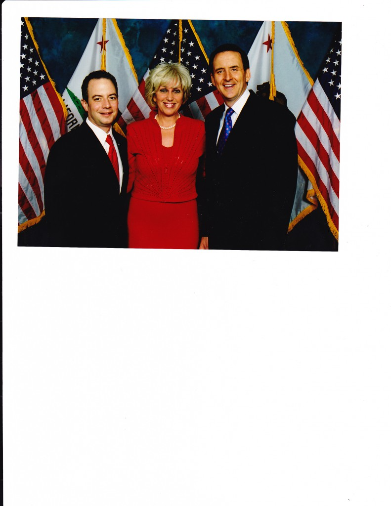 Picture with GOP chairman Reince Preibus and Gov. Tim Pawlenty