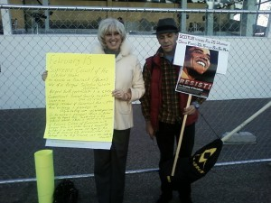 Orly Taitz cover picture protest
