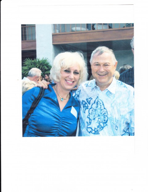Attorney Orly Taitz with Congressman Dana Rohrabacher at his birthday party